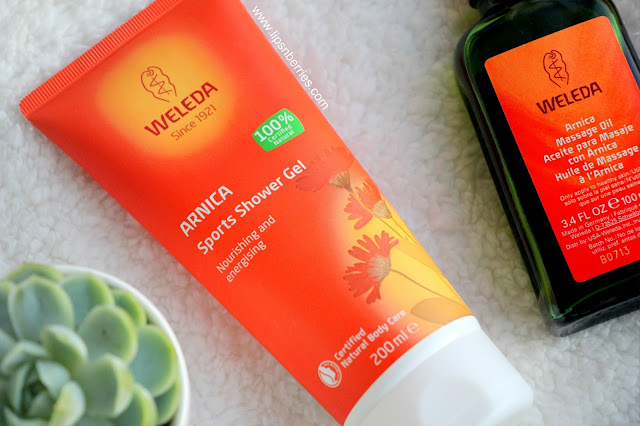Weleda Arnica shower gel review
