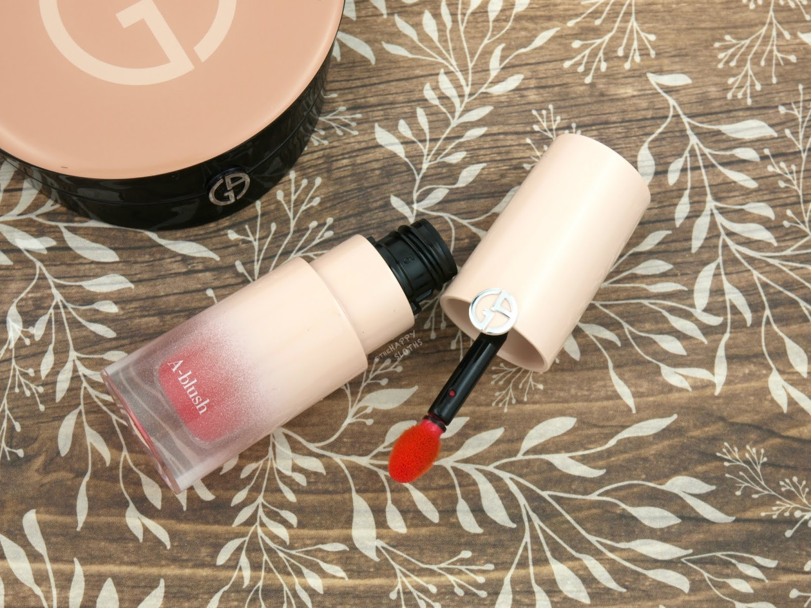 Giorgio Armani Beauty | A-Line Liquid Blush: Review and Swatches