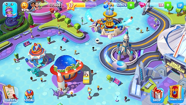 Gameloft launches Disney Magic Kingdoms for Android, iOS and Windows (PC + Phone)