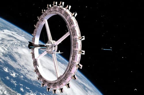 Voyager Station ... a space hotel due to open in 2027