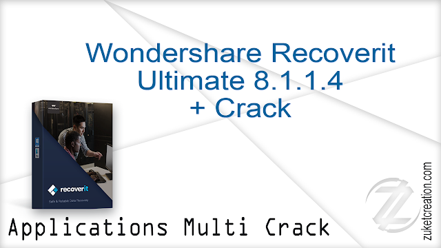 Wondershare Recoverit Ultimate 8.1.1.4 + Crack