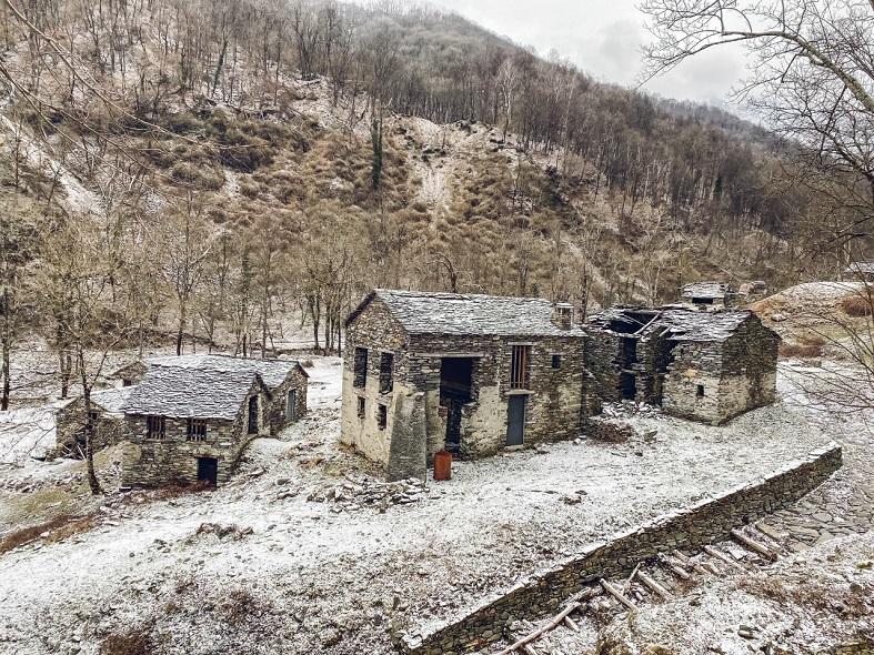 I mulini di piero in Val Veddasca