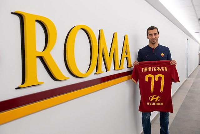 Mkhitaryan seeks happiness in AS Roma