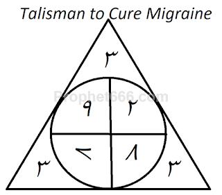 Muslim Yantra to Cure Migraine