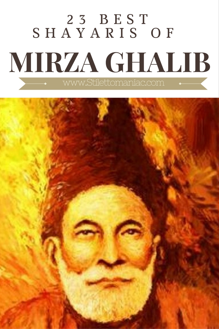mirza ghalib Mirza ghalib the greatest urdu poet of all times  he was one of the  founders of the modern urdu ghazal he received limited recognition in his.