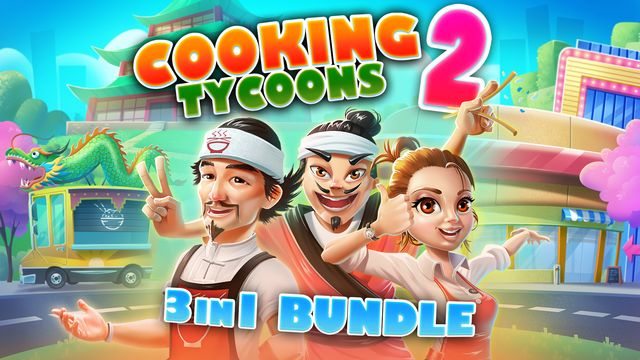 Cooking Tycoons 2 – 3 in 1 Bundle v1.0 NSP XCI For Nintendo Switch