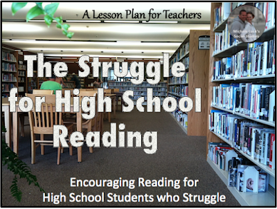 Tips to encourage reading for high school students who struggle