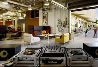 Green Pear Diaries, interiorismo, oficinas, oficinas de Facebook en Palo Alto, California