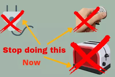 why can electric kitchen tools be dangerous and mistake of electric kitchen tool