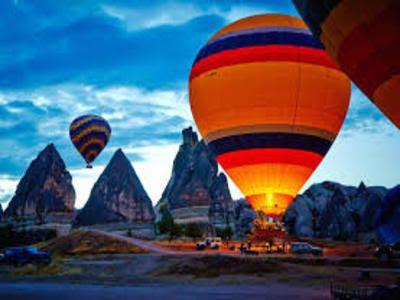 Hot balloon cappadocia turkey