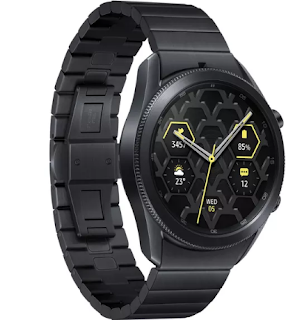 يأتي هاتف Galaxy Watch 3 من سامسونج الآن بطراز تيتانيوم بقيمة 600 دولار
