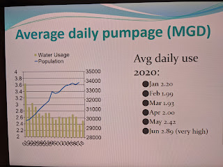 screen capture of TC meeting water update #5