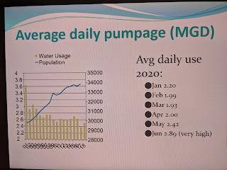 screen capture of TC meeting water update #5
