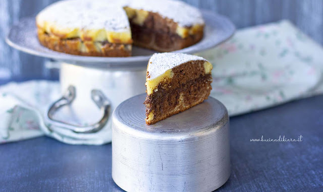 Torta bigusto cotta in padella
