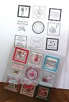 Clear Stamp Set und Abdruck