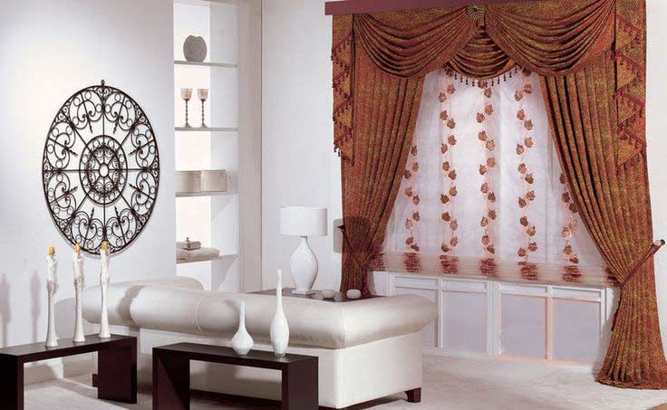 Stylish curtain designs and ideas for living room 2019 - Curtain ideas for living room india ...