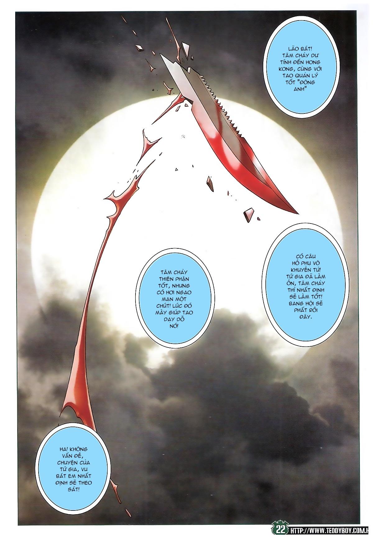 Người Trong Giang Hồ chapter 1721: vĩnh biệt vu bát trang 21