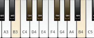 B pentatonic scale