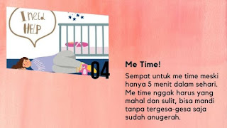 atasi baby blues dengan me time