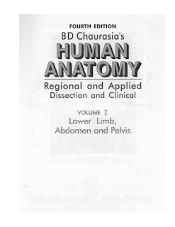 human anatomy BD chaurasia