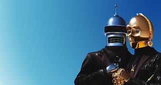 Das Bild des Tages: Human After All Bender & C3PO | Popkulturelle Digital Kunst von Felipe Ramos