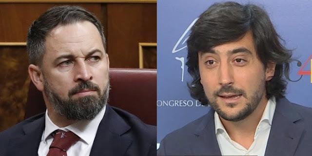 Toni Roldán y Santiago Abascal