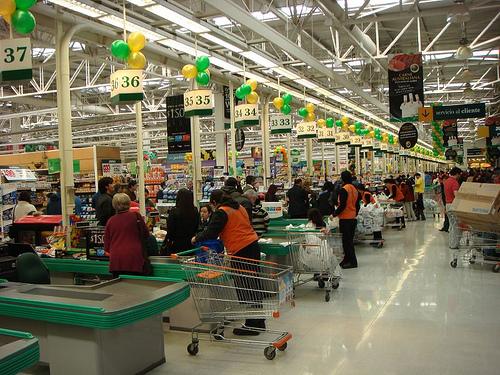 Supermercados em Santiago do Chile