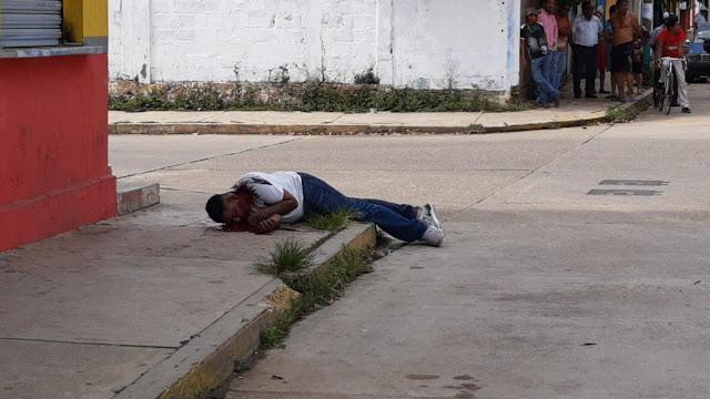 Lo ejecutan a balazos en Acayucan