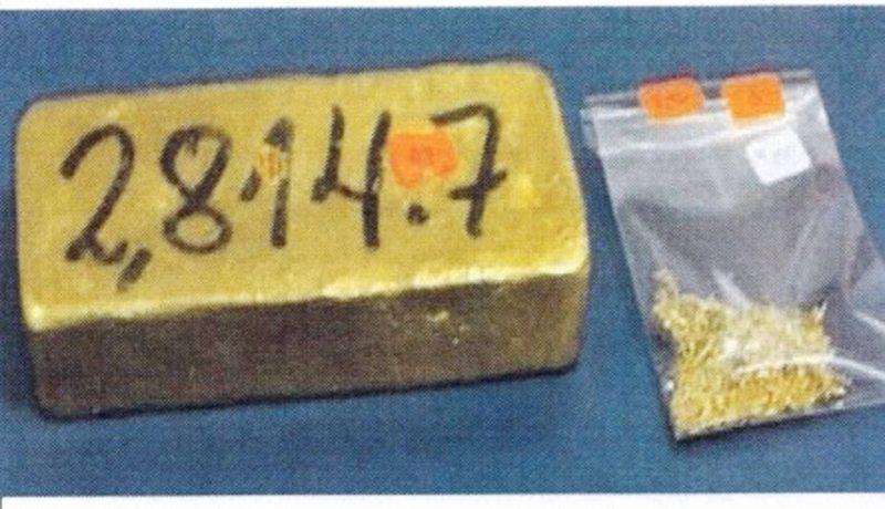 Aduana saca a remate desde lingotes de oro a sacos de dormir usados