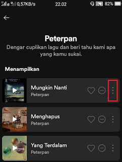 download lagu spotify -pilih lagu di spotify