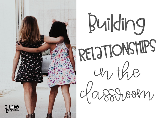 building relationships in thhe classroom, classroom community