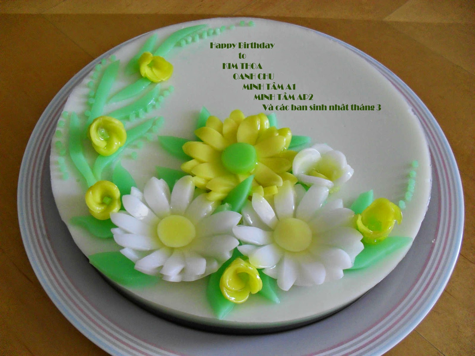 """Jelly Cake Making: 3D Gelatin Art Tools For Making """"floating Gracilaria Jelly"""