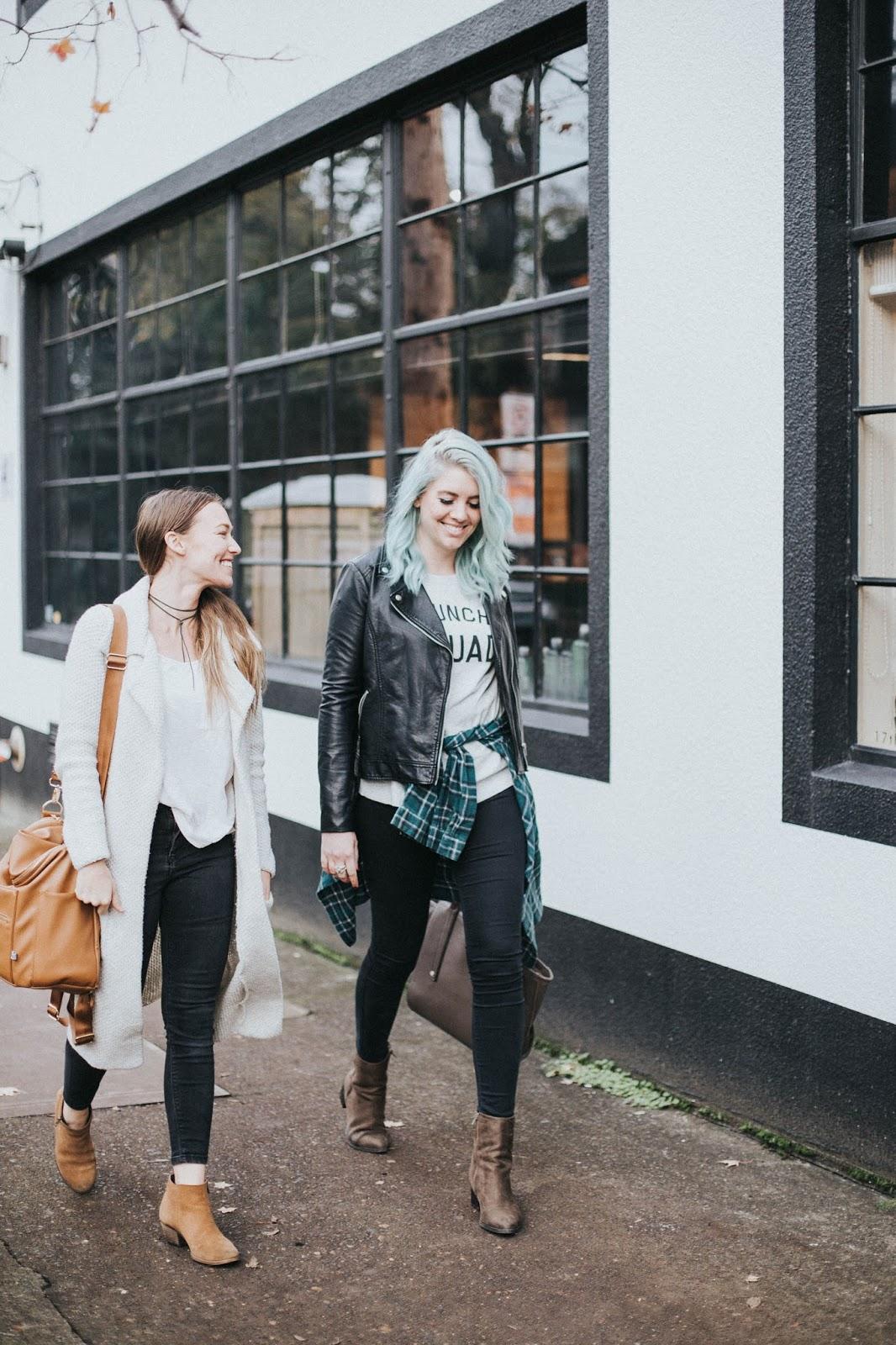 Fashion Bloggers, Fall Outfits, Oregon Traveling