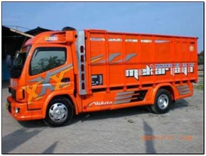 modifikasi truk canter terbaru