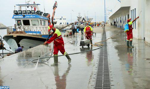 طنجة : إطلاق حملة تحسيسية في صفوف البحارة وتجار السمك حول مخاطر فيروس كورونا المستجد