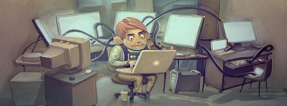 Programmer life: http://www.flickr.com/photos/stuseeger/97577796/