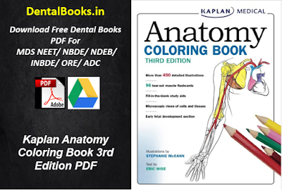 Kaplan Anatomy Coloring Book 3rd Edition PDF Download