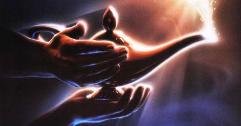 Libro versus Película. Aladdin, Aladino y la lámpara maravillosa. Anónimo y Walt Disney - Cine de Escritor