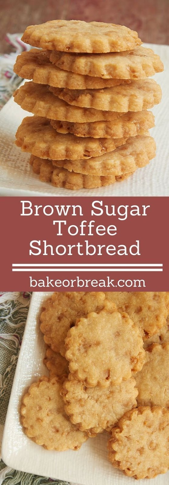 BROWN SUGAR TOFFEE SHORTBREAD