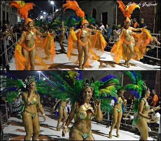 Desfile de Llamadas 2017 Montevideo Uruguay Makalé