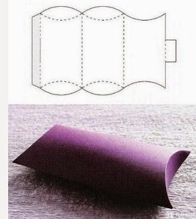 Geometrik Şekillerde Hediye Paketi Yapımı, Resimli Açıklamalı  7