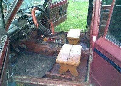 Des fauteuils en bois pour votre voiture