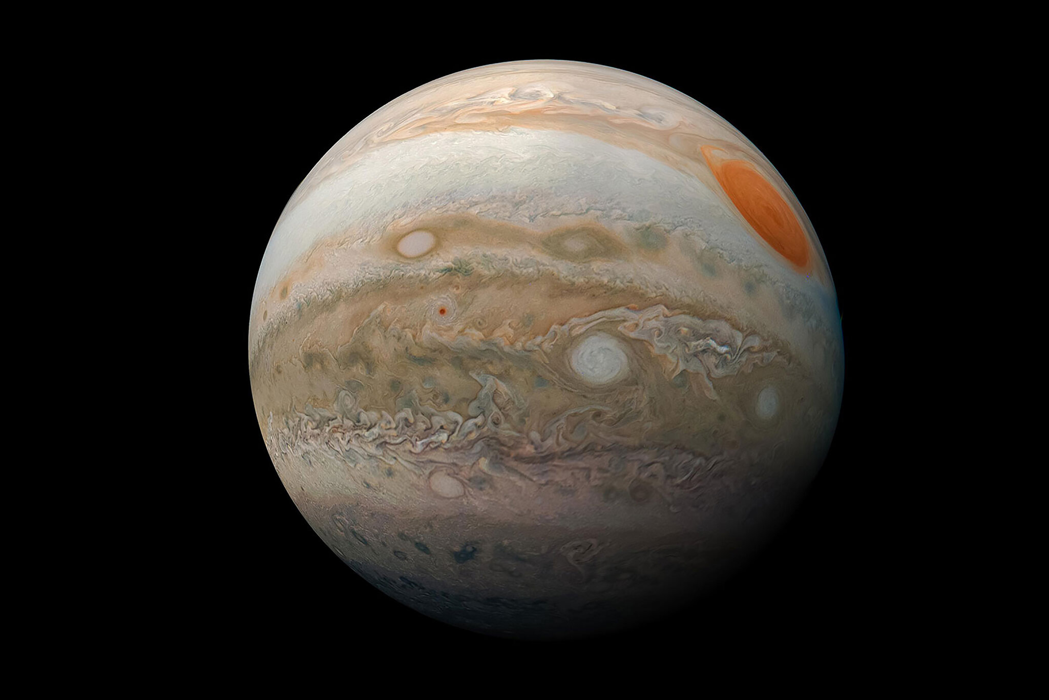 Great Blue Spot Detected On Jupiter