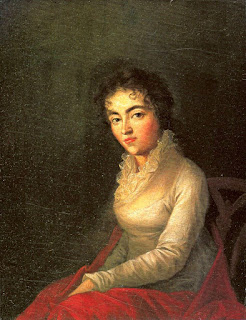 Retrato de Constanze Mozart (1762-1842), por Joseph Lange (1751–1831).