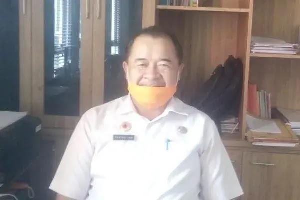 Kepala Pelaksana (Kalak) Badan Penanggulangan Bencana Daerah (BPBD) Kabupaten Sekadau Matius Jon