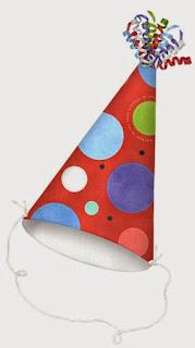 Clipart Celebrando un Cumpleaños.