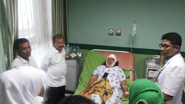 Pasca Banjir dan Longsor, Ali Mukhni Perintahkan SKPD Data Kerugian Secepatnya
