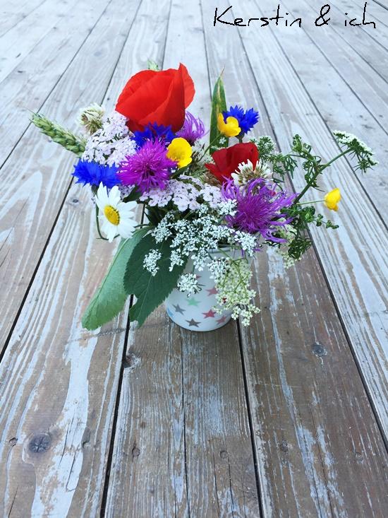 Feld und Wiesenblumen