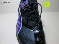 Schritt 5: Schnellverschluss Schnürsenkel von FAST MILE - Leistungsstarke Schuhbänder und Schnellschnürsystem - Premiumqualität Zweifarbige Reflektierende Elastische Sportschnürsenkel - Binden Sie Ihre Schuhe im Handumdrehen - Für Athleten, Läufer, Kinder, Ältere, Männer und Frauen empfohlen - 365 Tage 100% Zufriedenheitsgarantie (3 Paare)