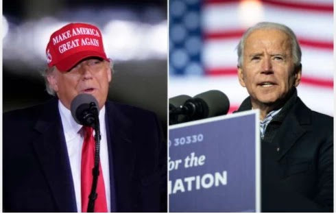 Joe Biden claims that his first victory in the US election is winning five votes in the small town of New Hampshire in Dixville Notch.